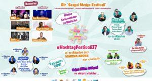 Sosyal Medya'daki Her Şey Bu Festivalde: #HashtagFestivali