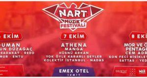 İzmit'in İlk Müzik Festivali: Nart (06-07-08 Ekim)